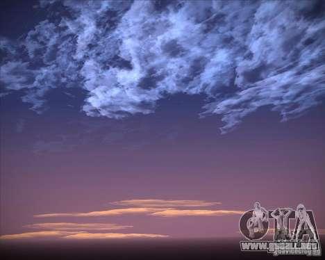 Real Clouds HD para GTA San Andreas undécima de pantalla