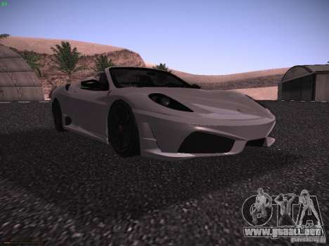 Ferrari F430 Scuderia M16 para GTA San Andreas left