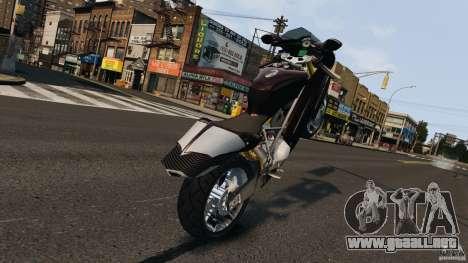 Ducati 999R para GTA 4 vista hacia atrás