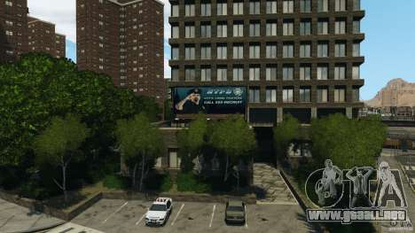 Remake second police station para GTA 4 segundos de pantalla