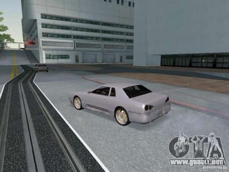 Elegy HD para GTA San Andreas vista hacia atrás