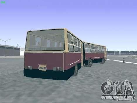 Remolque para Ikarus 280.03 para visión interna GTA San Andreas