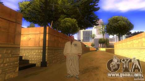 BrakeDance mod para GTA San Andreas segunda pantalla
