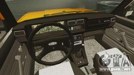 VAZ-2107 para GTA 4 visión correcta
