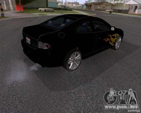 Vauxhall Monaco VX-R para la visión correcta GTA San Andreas