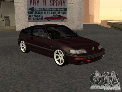 Honda Civic CRX JDM para la visión correcta GTA San Andreas