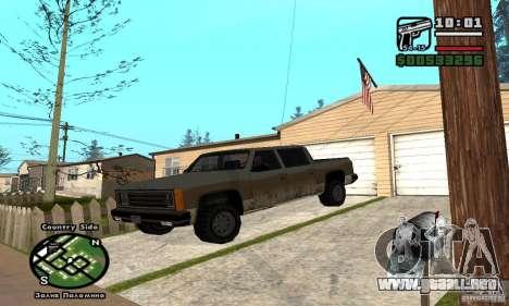 Rancher 4 Doors Pick-Up para GTA San Andreas