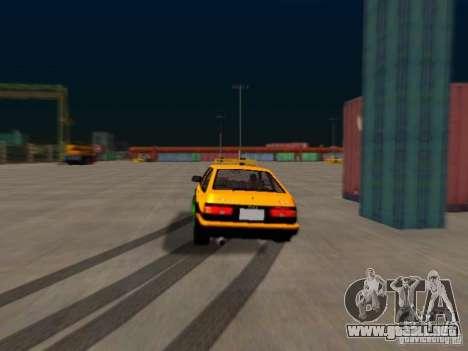 Toyota Corolla Carib AE86 para GTA San Andreas vista hacia atrás