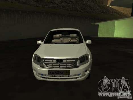 Lada 2190 Granta para GTA San Andreas left