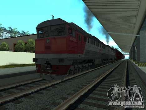 2te116 RZD para GTA San Andreas