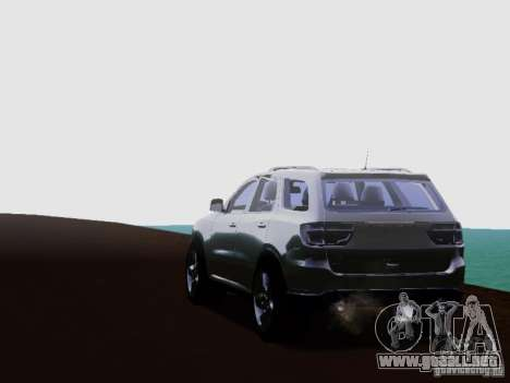Dodge Durango 2012 para la visión correcta GTA San Andreas