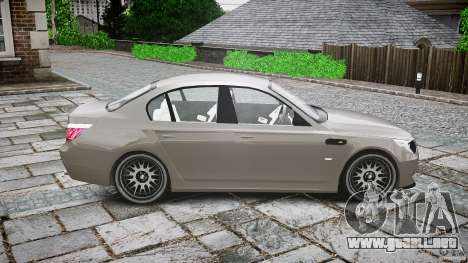 BMW E60 M5 2006 para GTA 4 vista lateral