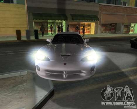 Dodge Viper para GTA San Andreas left