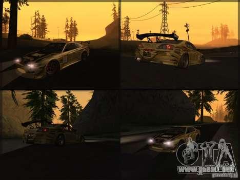 Nissan Silvia S15: Kei Office D1GP para la visión correcta GTA San Andreas