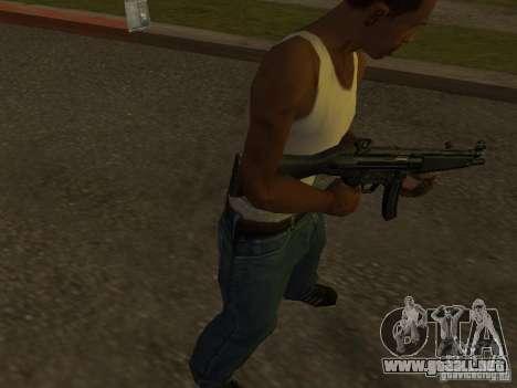 MP5A2 para GTA San Andreas