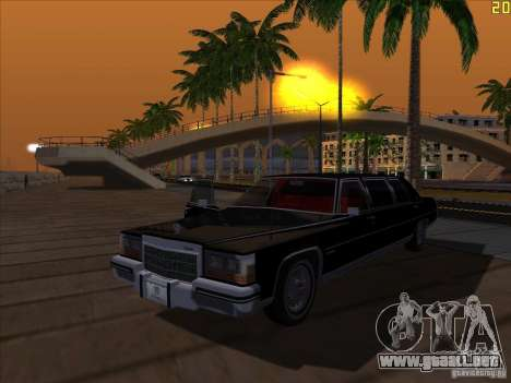 ENBSeries v1.6 para GTA San Andreas octavo de pantalla