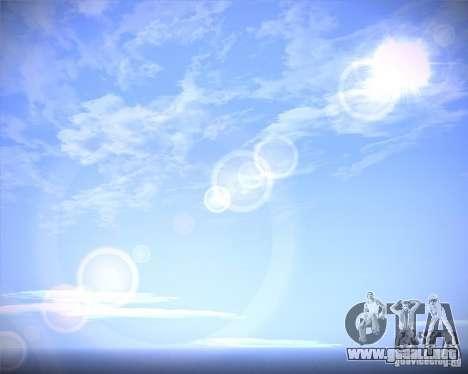 Real Clouds HD para GTA San Andreas segunda pantalla
