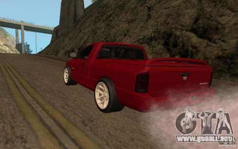 Dodge Ram SRT-10 para GTA San Andreas left