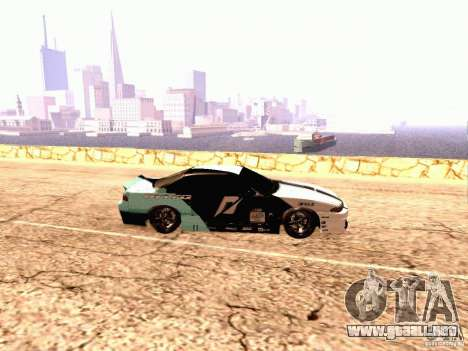 Nissan Silvia S14 Matt Powers 2012 para GTA San Andreas left
