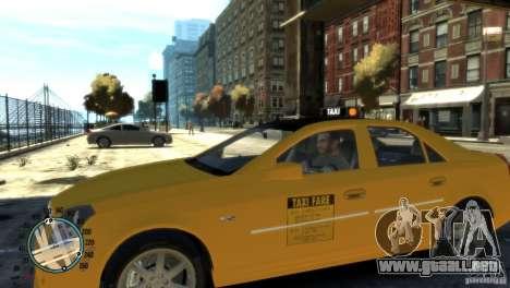 Cadillac CTS-V Taxi para GTA 4 left