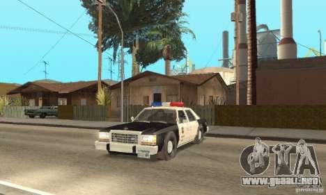 Ford LTD Crown Victoria Interceptor LAPD 1985 para GTA San Andreas