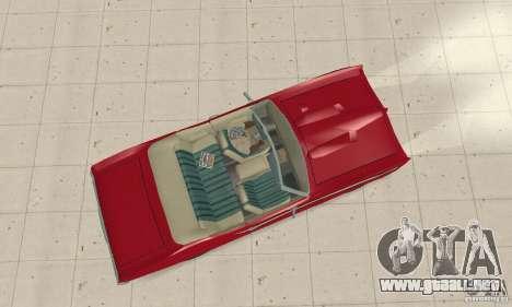 Pontiac GTO The Judge Cabriolet para la visión correcta GTA San Andreas