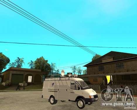 Canal de noticias de gacela 2705 para la visión correcta GTA San Andreas