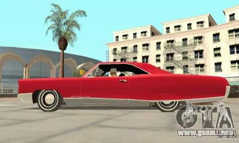 Pontiac Bonneville 1966 para la visión correcta GTA San Andreas