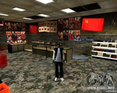 Almacena la reestructuración para GTA San Andreas séptima pantalla