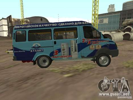 Gacela 32213 Atlanta para GTA San Andreas left