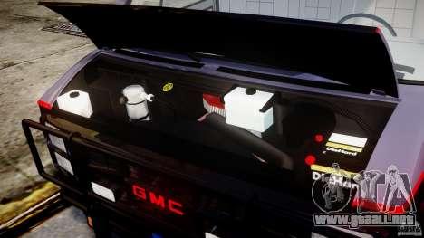 GMC Vandura A-Team Van 1983 para GTA 4 visión correcta