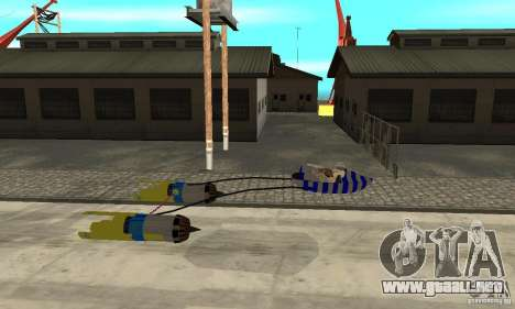 Star Wars Racer para GTA San Andreas left