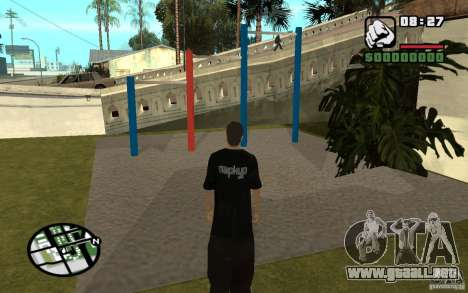 Barras horizontales para GTA San Andreas