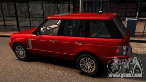 Range Rover TDV8 Vogue para GTA 4 left