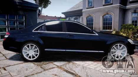 Mercedes-Benz S600 w221 para GTA 4 left