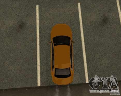AUDI S4 Sport para vista inferior GTA San Andreas