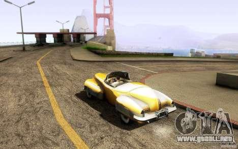 Buick Y-Job 1938 para la visión correcta GTA San Andreas