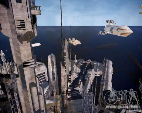 Stargate-Atlantis para GTA 4 quinta pantalla