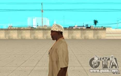 Pañuelo blanco para GTA San Andreas segunda pantalla