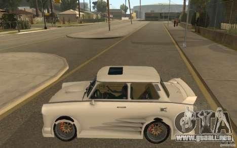 Trabant 601S Tuning para GTA San Andreas left