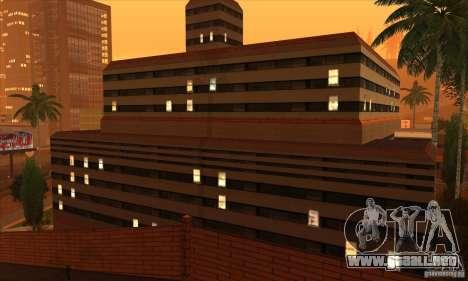 El nuevo hospital en HP para GTA San Andreas tercera pantalla