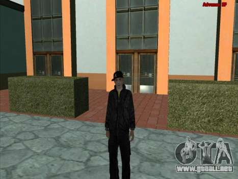 GuF para GTA San Andreas segunda pantalla