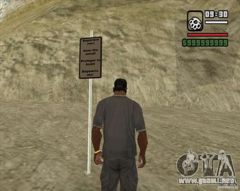 Casa Hunter v3.0 Final para GTA San Andreas tercera pantalla