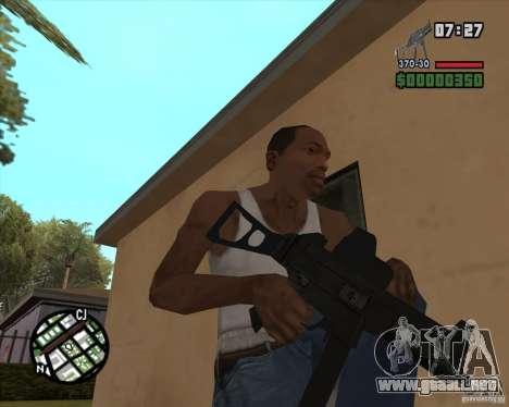 Ump 45 v 2.0 para GTA San Andreas tercera pantalla
