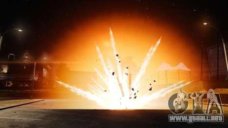 Explosiones grandes y realistas para GTA 4 tercera pantalla