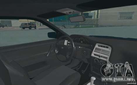 VAZ 21123 para GTA San Andreas vista posterior izquierda