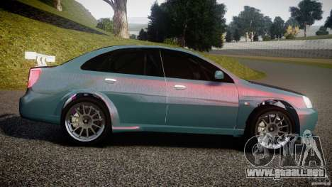 Chevrolet Lacetti WTCC Street Tun [Beta] para GTA 4 left