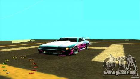 Paquete de vinilo para Elegy para GTA San Andreas sucesivamente de pantalla