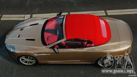 Aston Martin DBS Volante [Final] para GTA 4 visión correcta