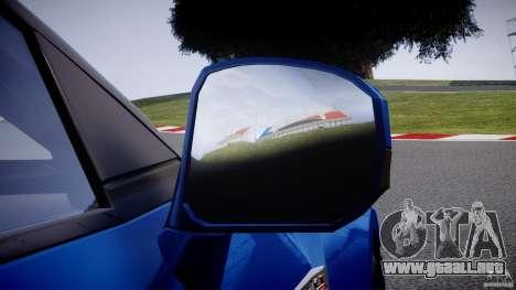 Nissan GT-R R35 2010 v1.3 para GTA 4 ruedas